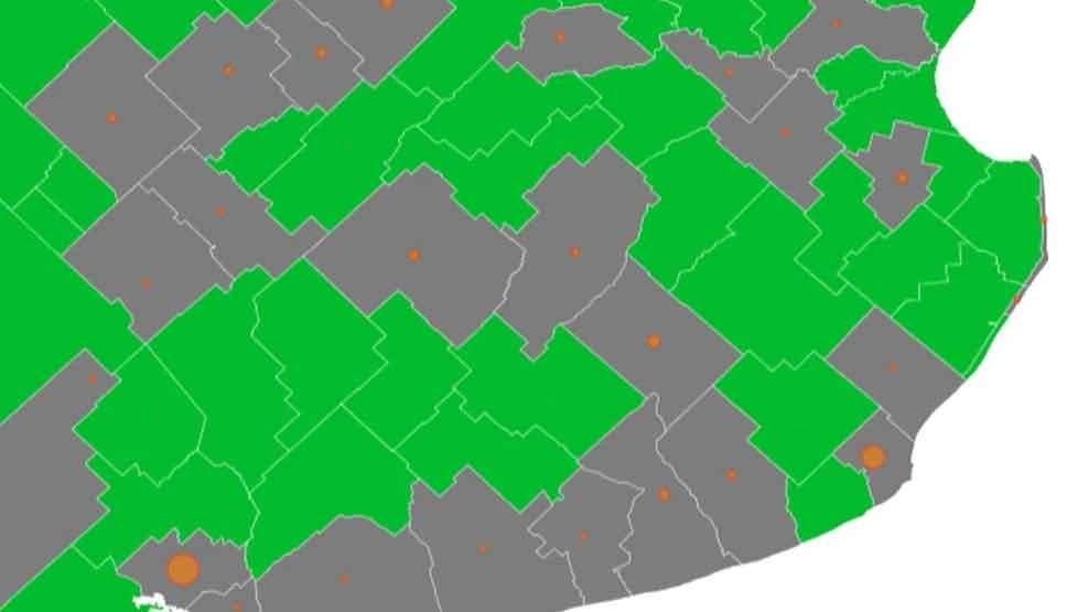 Bolívar es uno de los 52 distritos de la provincia de Buenos Aires libres de coronavirus