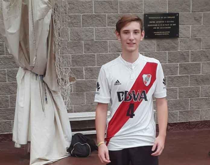 Faustino Murgades; 'Fue linda la experiencia en River, ahora tengo que seguir entrenando para defender la camiseta del CEF'