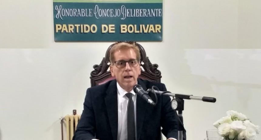 Luis María Mariano; 'En un contexto como este es importante que todas las fuerzas políticas acompañen las decisiones que se van tomando'