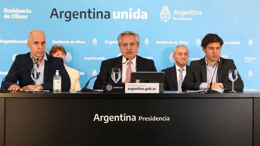 El Presidente anunció la fase 4 de reapertura progresiva del Aislamiento Social, Preventivo y Obligatorio