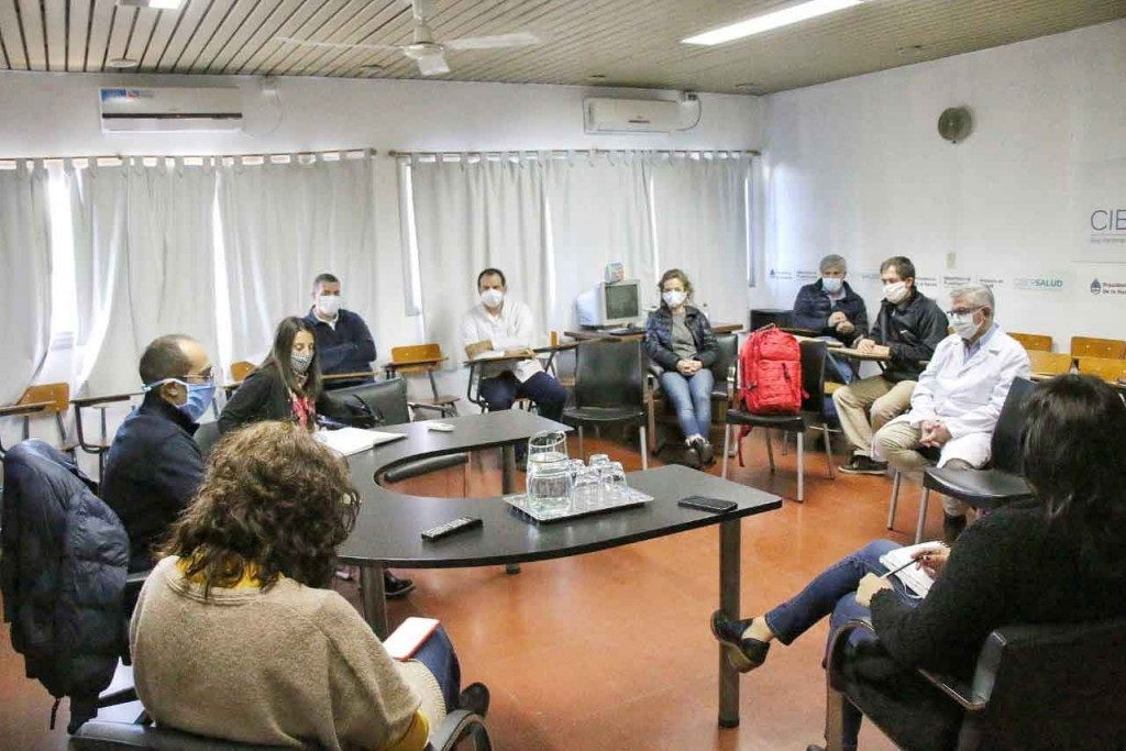 Pisano se reunió con el comité de prevención de coronavirus