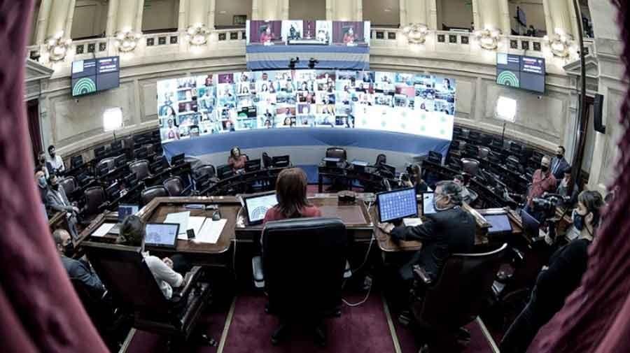 En el Senado y en Diputados se realizarán las primeras sesiones virtuales de su historia