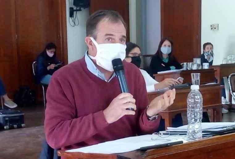 El concejal Erreca pide que no trasladen a policías de Bolívar durante la pandemia