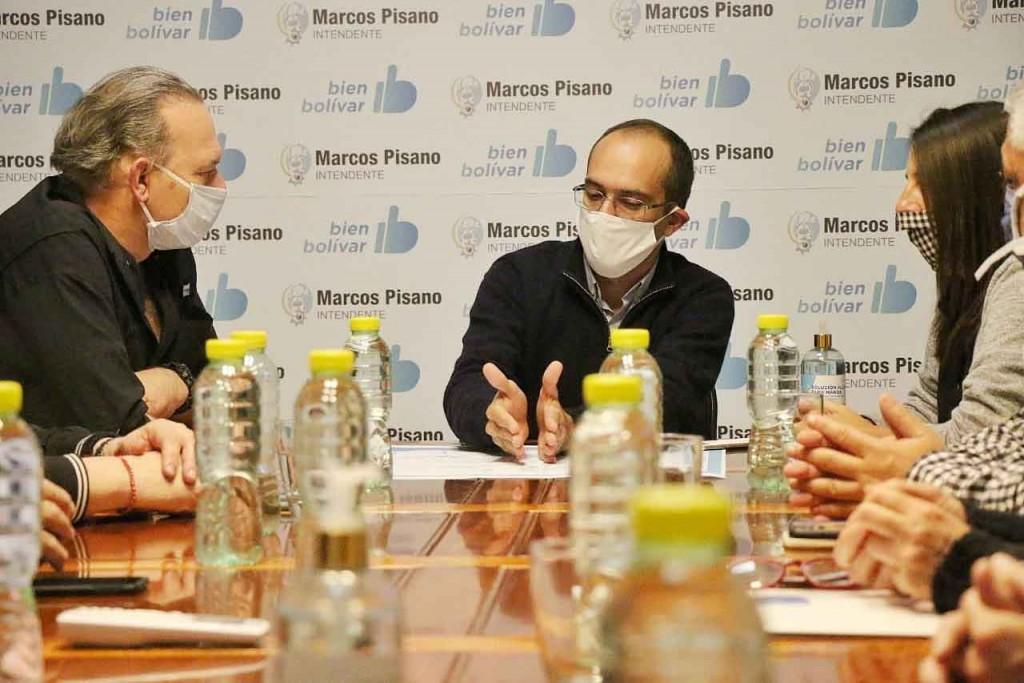 Berni: 'Bolívar está preparada y eso es un logro de la gestión' (audio)
