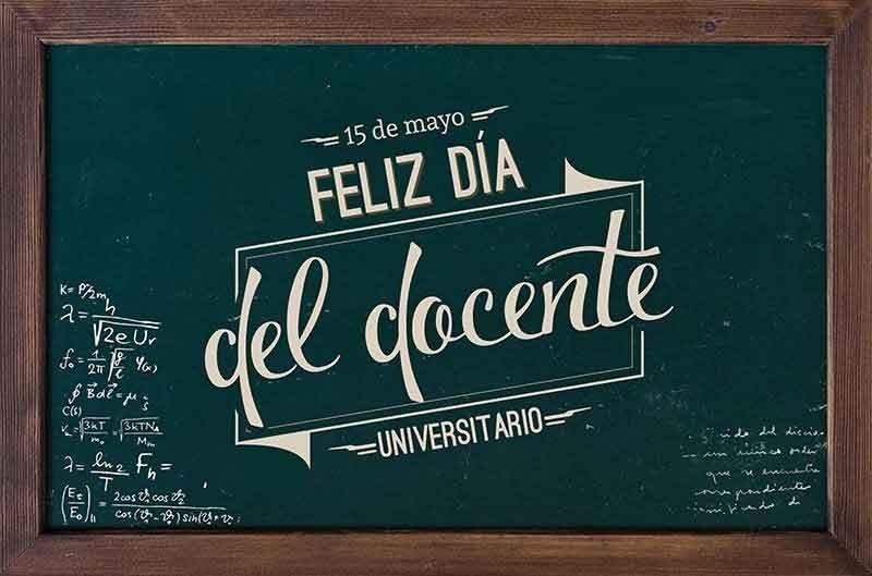 15 de mayo: Día del Docente Universitario en Argentina