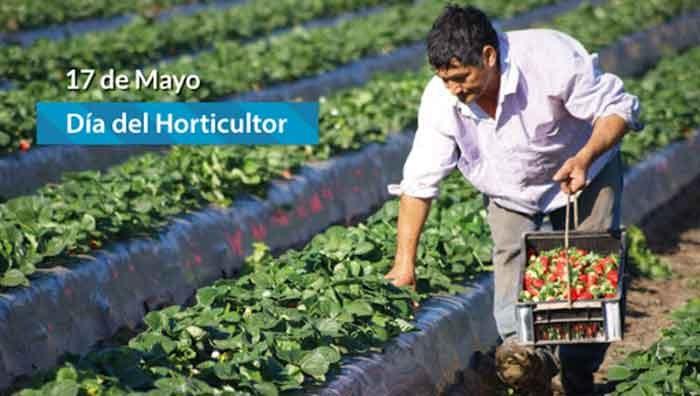 17 de mayo; Día del Horticultor