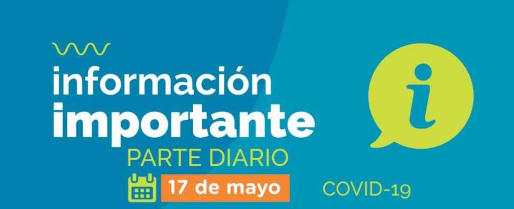 Informe Diario; Cuarta jornada consecutiva sin casos en estudio en la ciudad