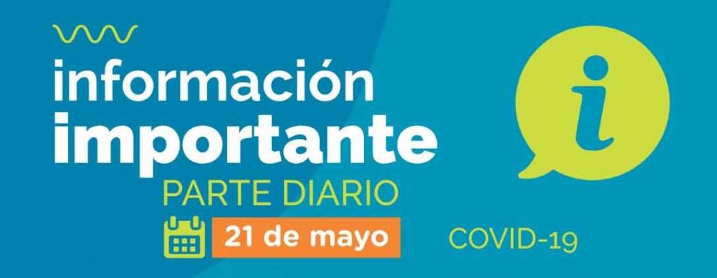Informe Diario; Nuevamente en cero. La ciudad de Bolívar sin casos en estudio ni confirmados de COVID 19