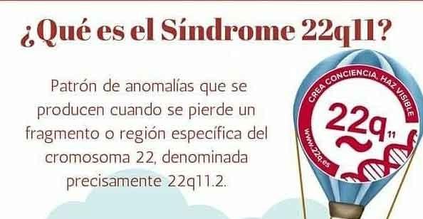 22 de Mayo; Día Internacional del Síndrome 22q11