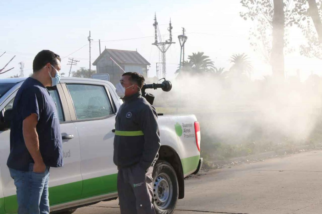 Zoonosis continúa reforzando la pulverización en Bolívar y las localidades