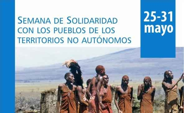 25 al 31 de mayo: Semana Internacional de Solidaridad con los Pueblos de los Territorios No Autónomos