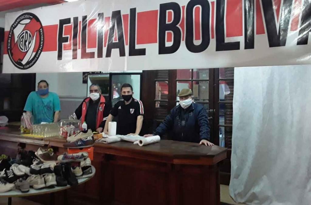 River Solidario; Recibe donaciones para colaborar con comedores y merenderos
