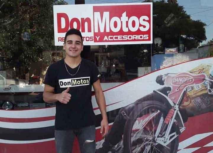 Leo Domelio;  'Antes renegaba más en las carreras, hoy voy a disfrutarlas'