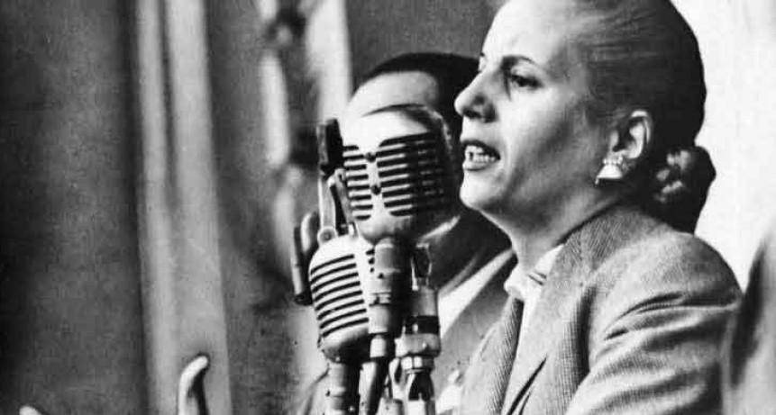 7 de mayo; 101° aniversario del natalicio de Eva Perón