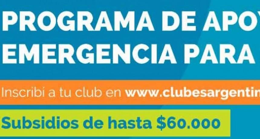 Hasta el 22 de mayo se encuentra abierta la inscripción para la ayuda económica destinada a clubes deportivos