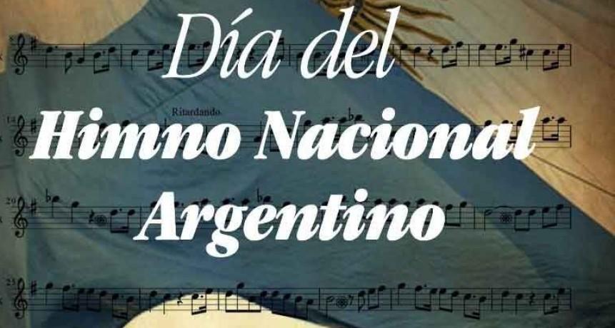 11 de mayo; Día del Himno Nacional Argentino