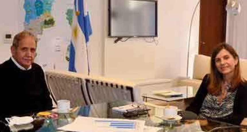 Fernanda Raverta mantuvo una reunión con Sergio Palazzo
