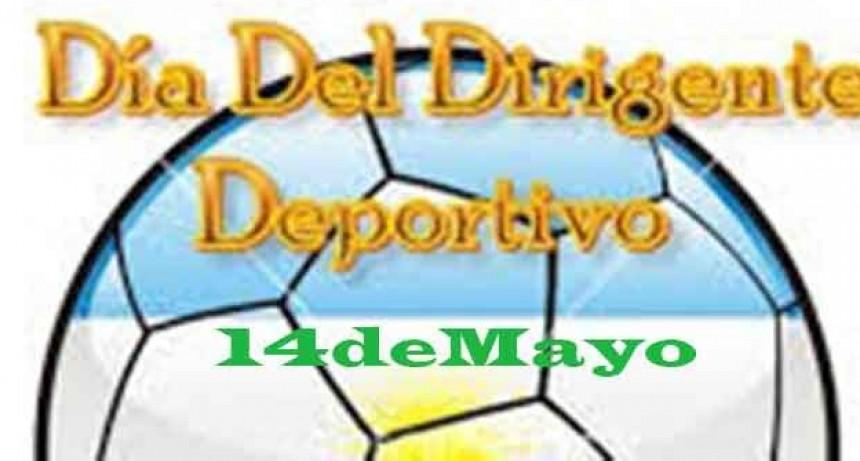 14 de mayo; Día del Dirigente Deportivo en Argentina