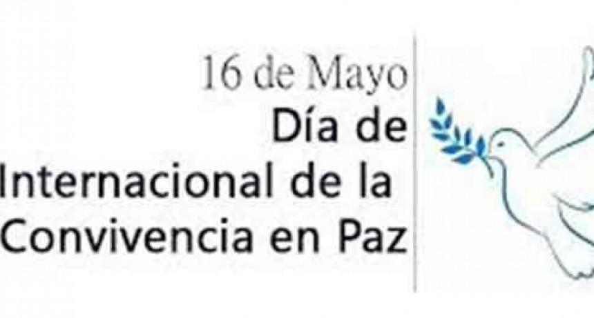 Día Internacional de la Convivencia en Paz