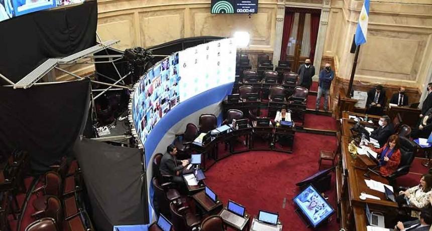 El Senado prepara su segunda sesión virtual: los proyectos que debatirá
