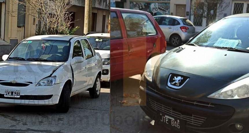 Leve impacto en Avenida Alsina y Calle Güemes; solo daños materiales