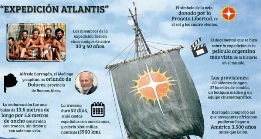 Expedición Atlantis: a 36 años de la hazaña que el mundo entero aplaudió de pie