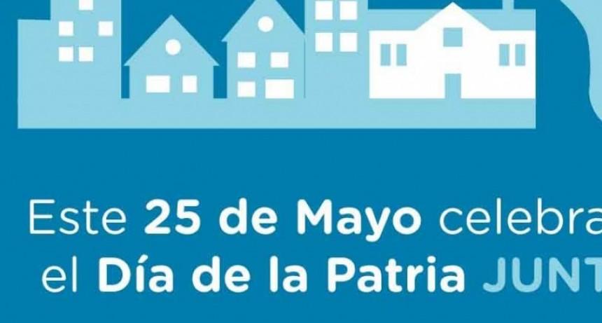 Día de la Patria; Este 25 de Mayo súmate a vestir la ciudad de celeste y blanco
