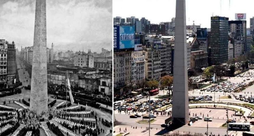23 de mayo 1936- inauguración del Obelisco de Buenos Aires