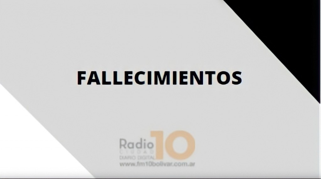Falleció en Bolívar, Dominga Serafina Cortese de Tartarelli