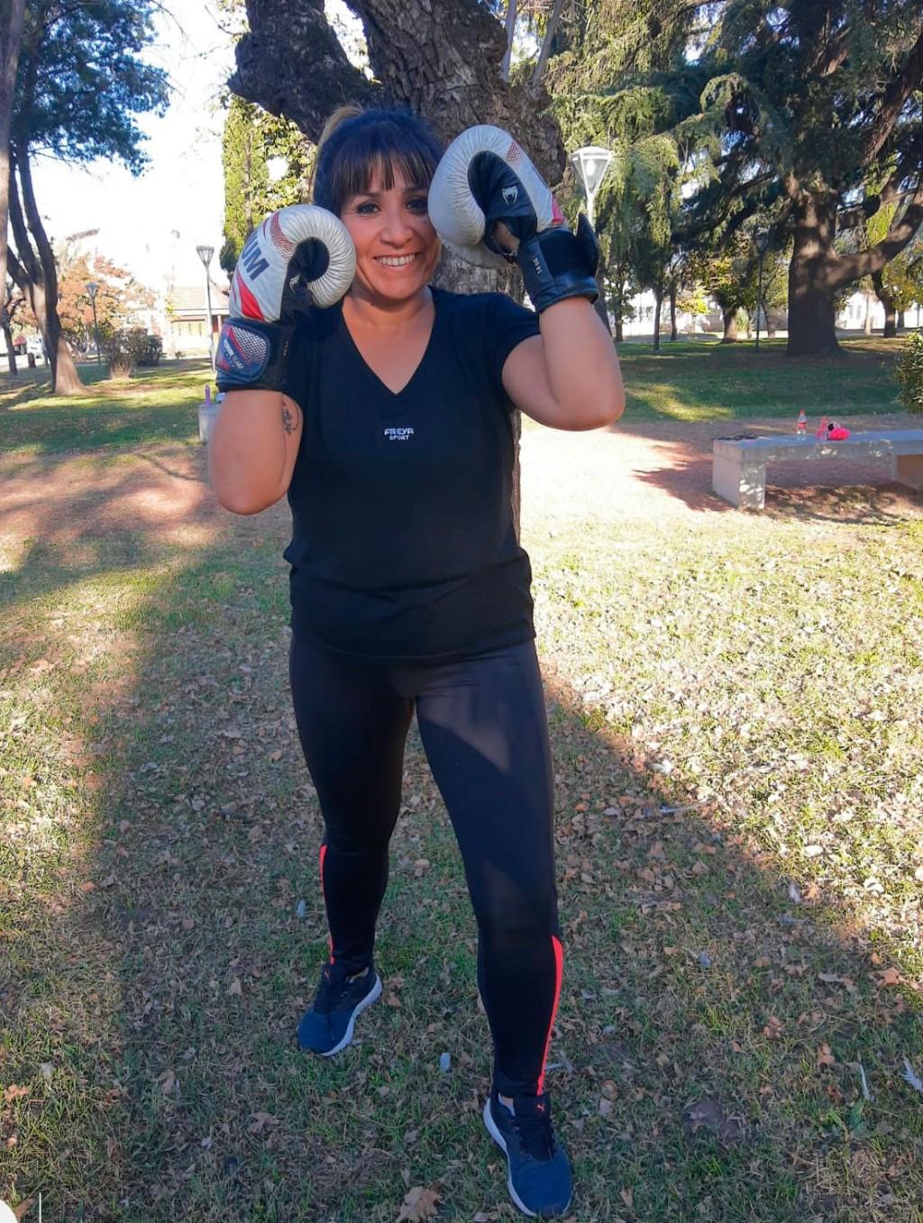"""Liliana Gorosito: """"Me enamoró la energía que hay ahí. Los compañeros que te motivan a seguir y no rendirte"""""""