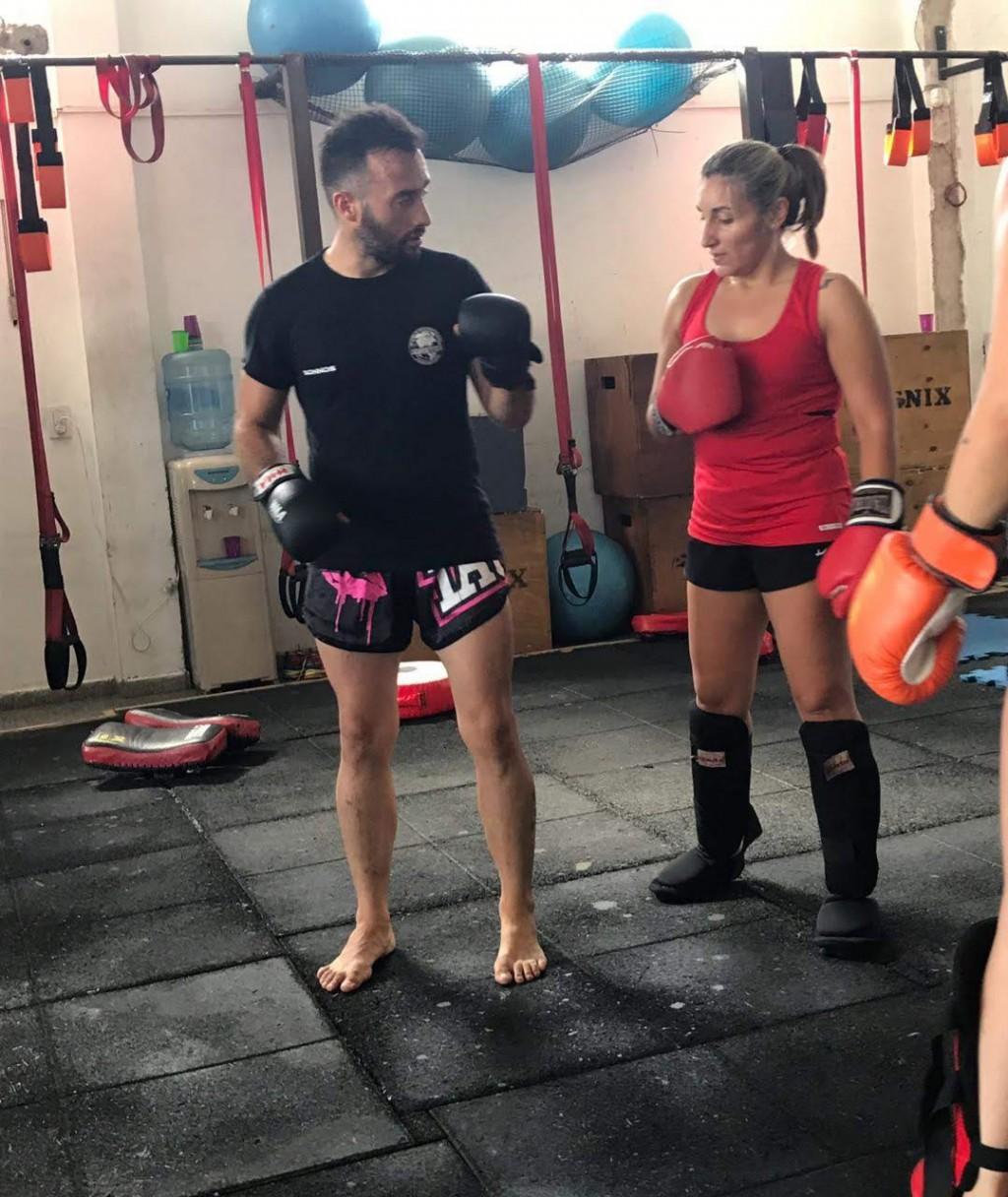 """Noelia Palacios: """"Es mi cable a tierra, estoy esperando que llegue el momento para ir a entrenar, salgo de casa feliz y vuelvo más contenta"""""""