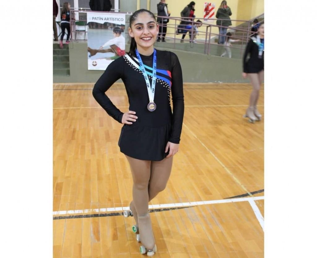 """Jimena Moreno:  """"Con el tiempo aprendí que con entrenamientos, con dedicación y con una buena técnica, todo se logra"""""""