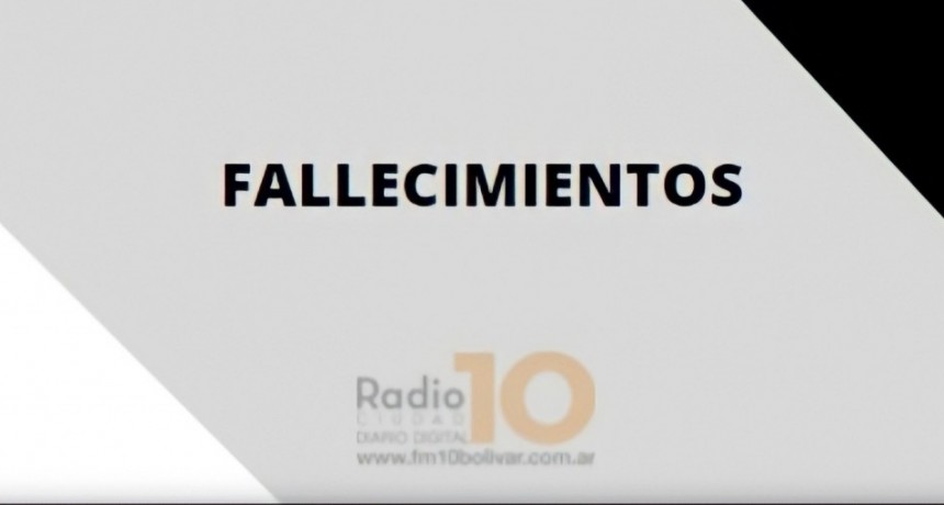 Falleció Dominga Rafaela Valerga viuda de Saravia