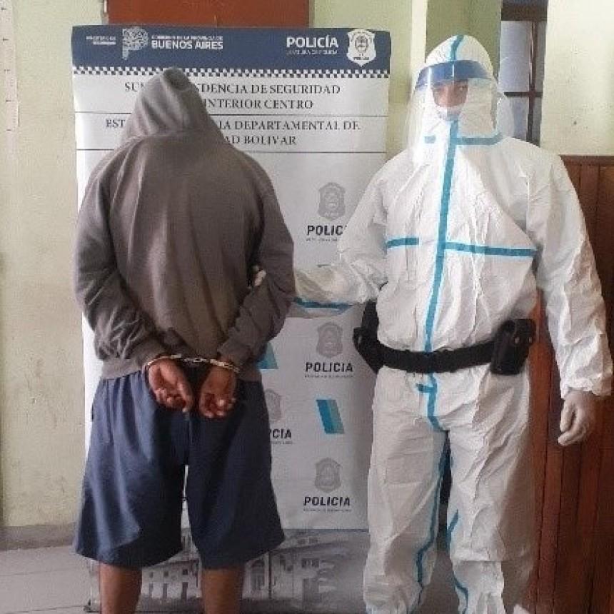 Información Oficial: La Policía detuvo al acusado de amenazar de muerte a su expareja e incendiar su vivienda