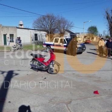 Accidente en Barrio Casariego