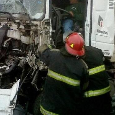 Un Bolivarense sufrió un accidente en el partido de Junin