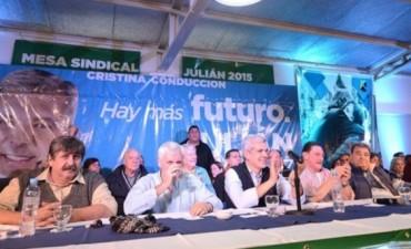 Luján: Fuerte respaldo de intendentes a la candidatura a gobernador de Julián Domínguez