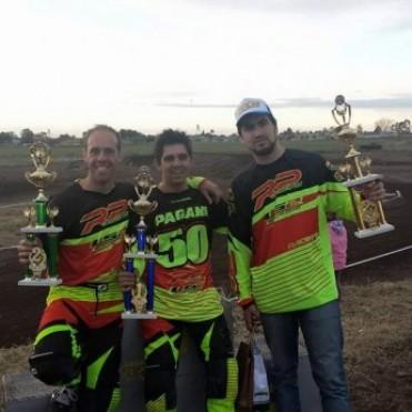 El equipo RP Motos Team Bolívar, se trajo todo de La Pampa