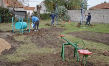 Recuperación y construcción de nuevos espacios verdes