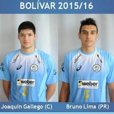 Voley: Gallego y Lima también se quedan en Bolívar