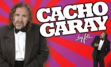 Hoy llega a Bolívar el humor inconfundible de Cacho Garay