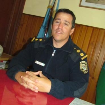 Juan Ordosgoyti fue ascendido a Comisario Inspector