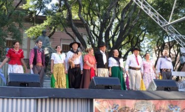 Salinas Grandes participó en Mataderos