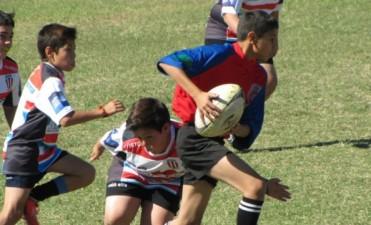 Primera concentración de rugby femenino, más encuentro de rugby infantil