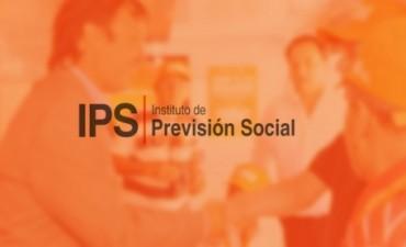 Jubilados y pensionados del IPS percibirán en dos jornadas haberes de junio y aguinaldo