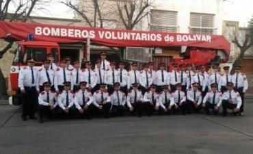 Acto por el Día del Bombero Voluntario este 2 de junio