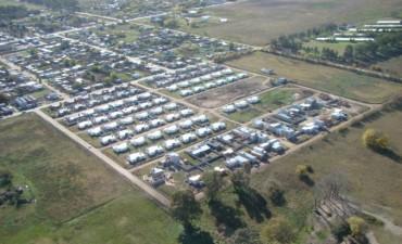 Fotos aérea y video de las 150 viviendas 'Techo Digno'