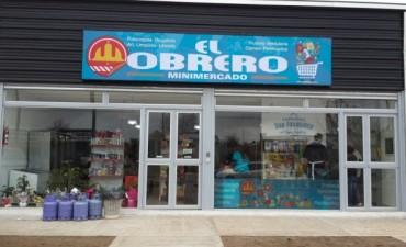 Minimercado 'El Obrero' ya abrió sus puertas