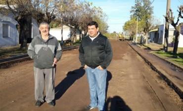 El Pavimento Continuo llegó a Barrio Villa Diamante