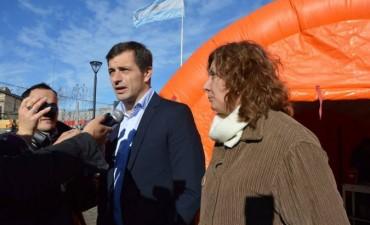 El Intendente presentó una Campaña de Vacunación en el Centro Cívico